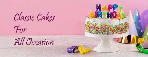 Send cakes